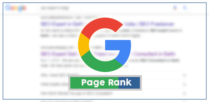 How much importance the Google Page Rank holds