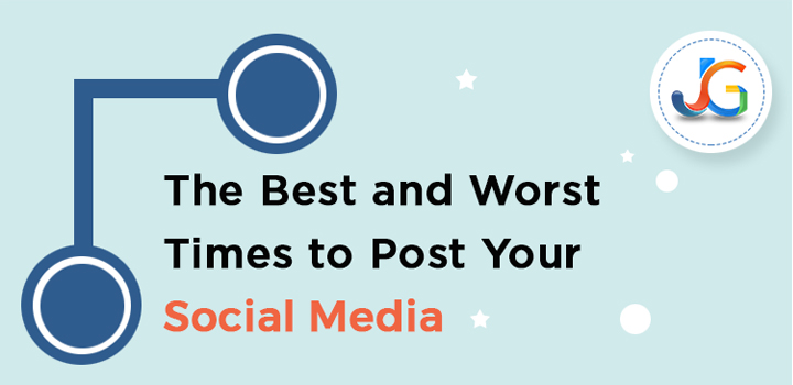 The Best and Worst Time to Post Your Social Media